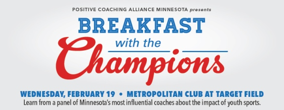 PCA-Minnesota Breakfast with the Champions